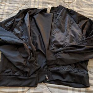 Women's Fabletics bomber jacket size xlarge